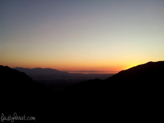 Desolation Trail Sunset_feistyharriet_June 2015