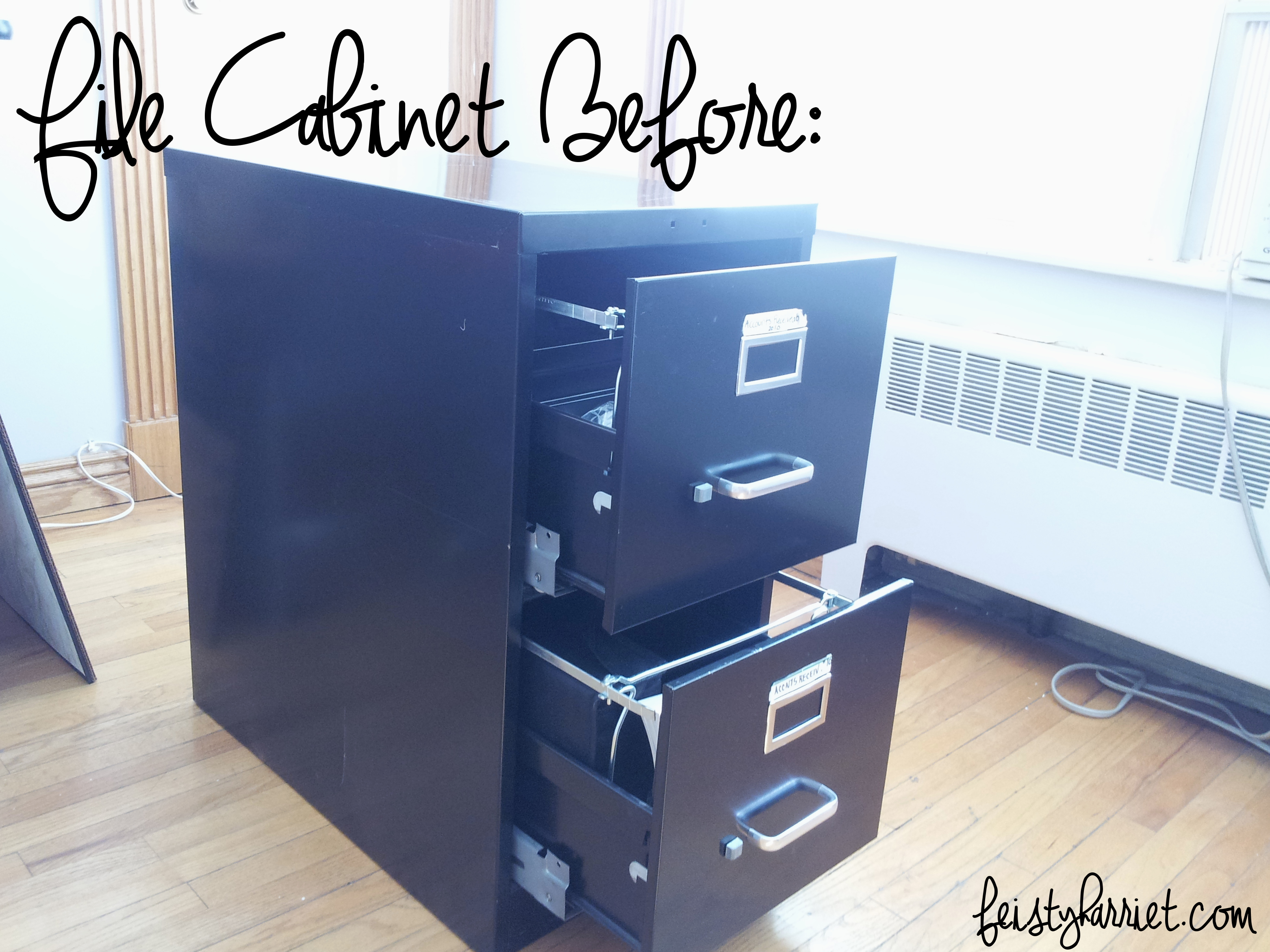 File Cabinet redo – Feisty Harriet
