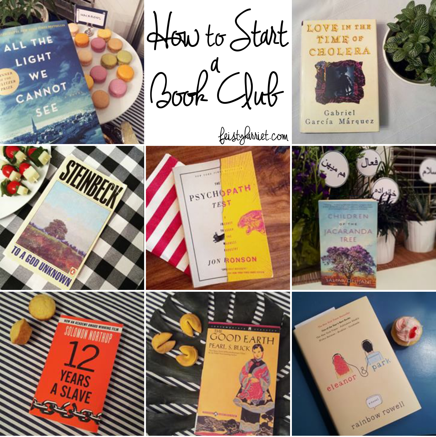 How to Start a Book Club_feistyharriet_April 2016